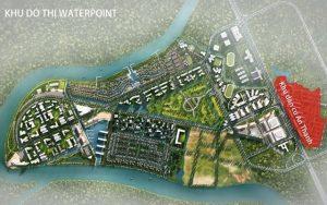 phối cảnh tổng khu đô thị waterpoint long an